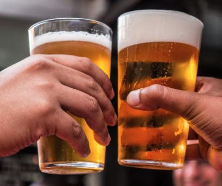 Vastendieet en alcohol